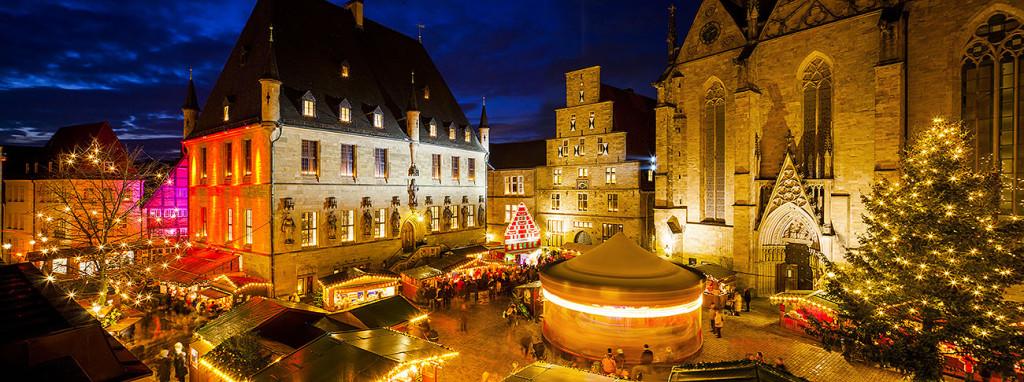 Weihnachtsmarkt Osnabrück.Wundervolle Kulisse Blick Ins Archiv Architektur Freizeit